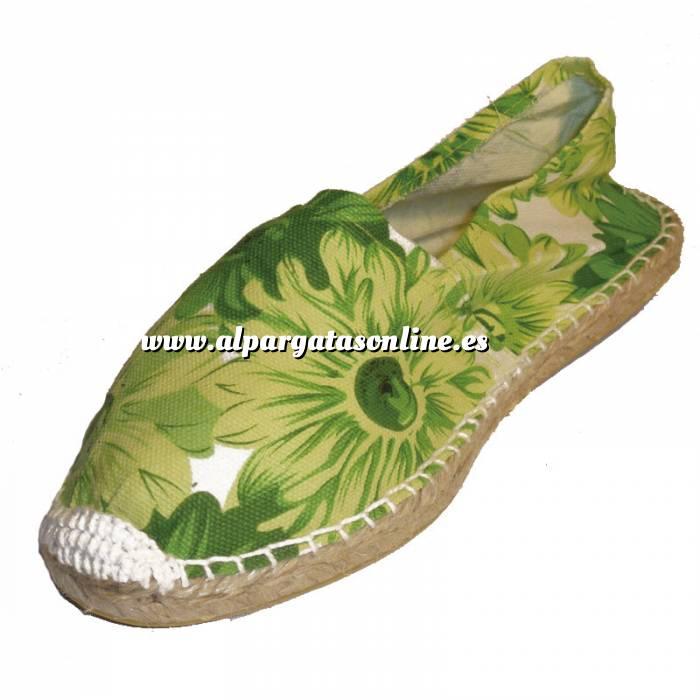 Imagen Girasol Verde ESTM - Estampada Mujer Girasol Verde Talla 37