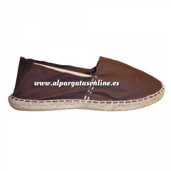 Imagen Marrón Chocolate CLASH Alpargata Clásica cerrada HOMBRE color MARRON CHOCOLATE Talla 42