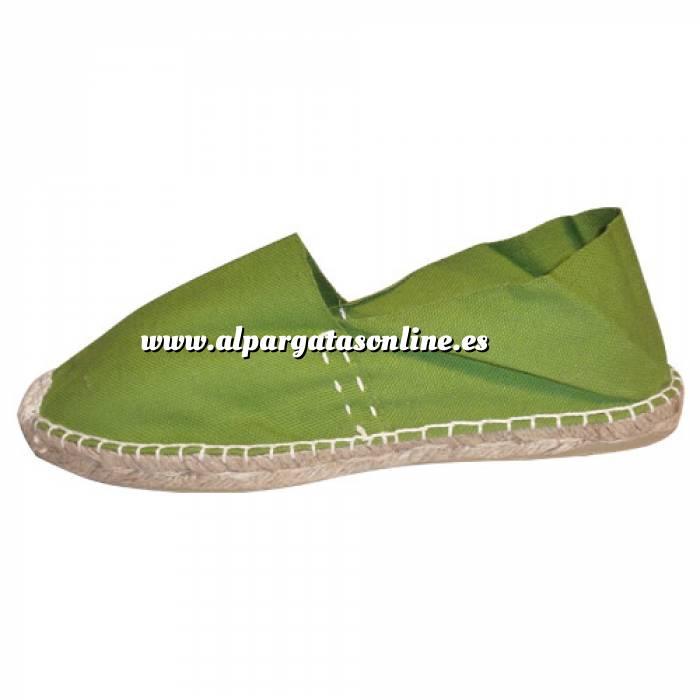 Imagen Verde Oliva CLASM Alpargata Clásica cerrada Mujer Verde Oliva Talla 37