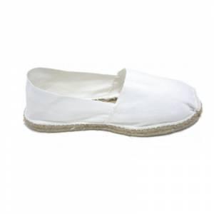 Blanco - Alpargata Española Hombre Blanco Talla 42
