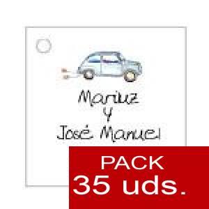 Imagen Etiquetas personalizadas Etiqueta Modelo A07 (Paquete de 35 etiquetas 4x4)