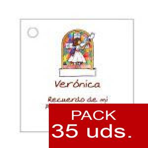 Imagen Etiquetas personalizadas Etiqueta Modelo B21 (Paquete de 35 etiquetas 4x4)