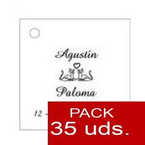 Imagen Etiquetas personalizadas Etiqueta Modelo C04 (Paquete de 35 etiquetas 4x4)