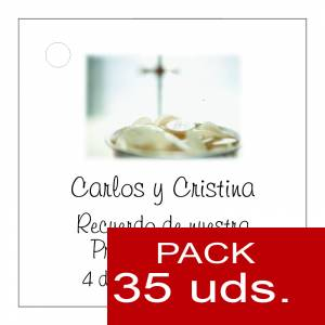 Etiquetas personalizadas - Etiqueta Modelo C20 (Paquete de 35 etiquetas 4x4)