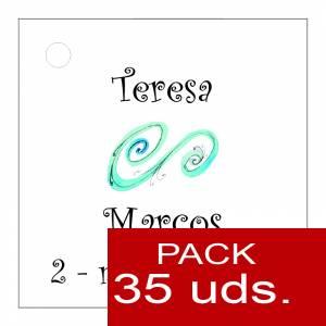 Etiquetas personalizadas - Etiqueta Modelo D06 (Paquete de 35 etiquetas 4x4)