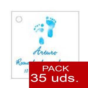 Imagen Etiquetas personalizadas Etiqueta Modelo D21 (Paquete de 35 etiquetas 4x4)