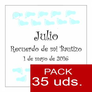Etiquetas personalizadas - Etiqueta Modelo D23 (Paquete de 35 etiquetas 4x4)