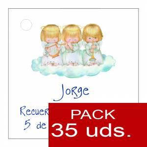 Etiquetas personalizadas - Etiqueta Modelo D26 (Paquete de 35 etiquetas 4x4)