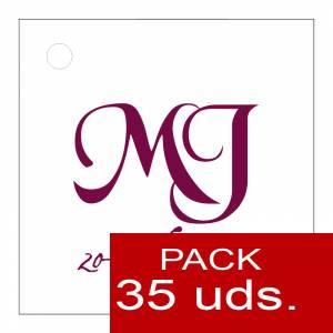 Etiquetas personalizadas - Etiqueta Modelo E10 (Paquete de 35 etiquetas 4x4)