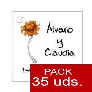 Imagen Etiquetas personalizadas Etiqueta Modelo F06 (Paquete de 35 etiquetas 4x4)