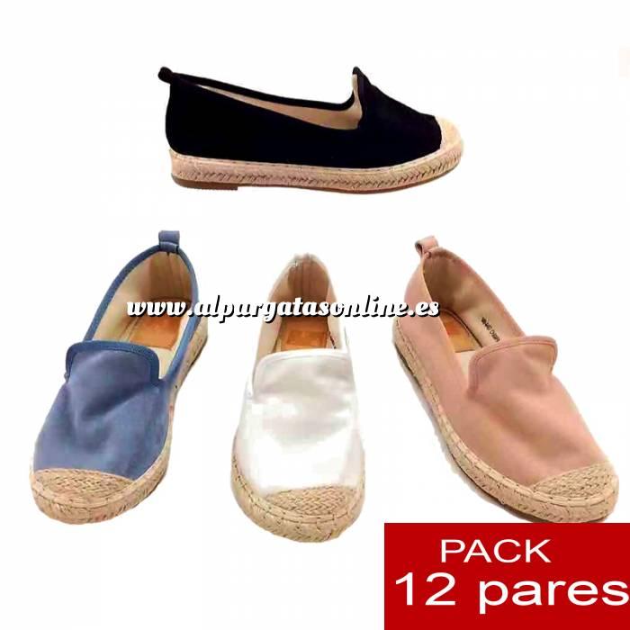 Imagen Alta Calidad Alpargata/ Mocasín - Caja de 12 pares (Últimas Unidades)