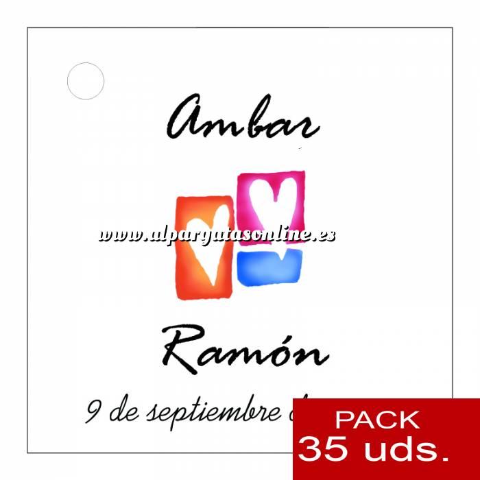Imagen Etiquetas impresas Etiqueta Modelo B10 (Paquete de 35 etiquetas 4x4)