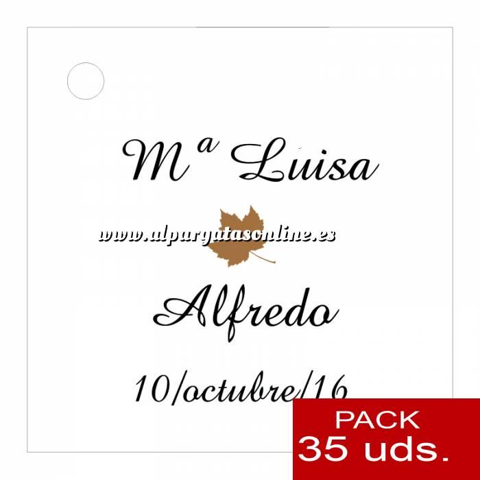 Imagen Etiquetas impresas Etiqueta Modelo F10 (Paquete de 35 etiquetas 4x4)