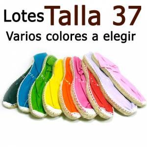 Alpargatas Elige Talla/Color_Talla 37