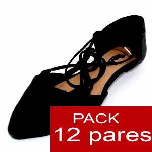 Alta Calidad - Sandalias Style NEGRO - Caja de 12 pares (Ref.: Negro 15C0749) (Últimas Unidades)