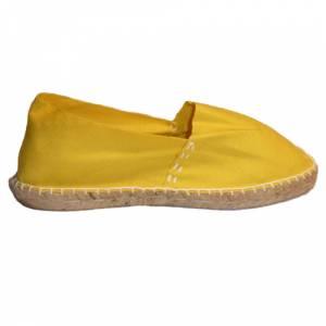 Amarillo - CLASM Alpargata Clásica cerrada Mujer Amarillo Talla 37