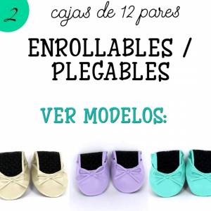 Bailarinas y Manoletinas_Enrollables/Plegables