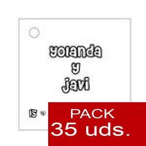 Imagen Etiquetas impresas Etiqueta Modelo A03 (Paquete de 35 etiquetas 4x4)
