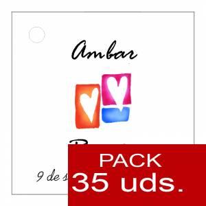 Etiquetas impresas - Etiqueta Modelo B10 (Paquete de 35 etiquetas 4x4)