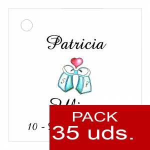 Etiquetas impresas - Etiqueta Modelo F04 (Paquete de 35 etiquetas 4x4)