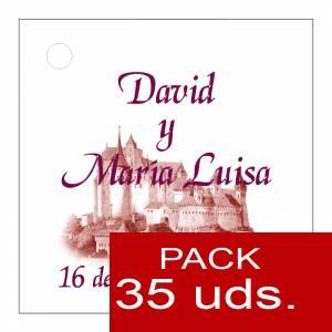 Etiquetas impresas - Etiqueta Modelo F09 (Paquete de 35 etiquetas 4x4)