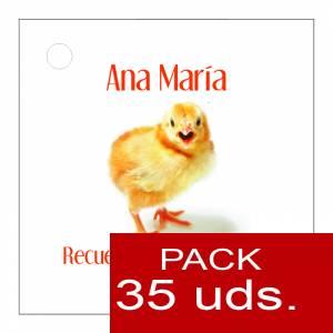 Etiquetas impresas - Etiqueta Modelo F14 (Paquete de 35 etiquetas 4x4)